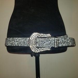 Ariat Crystal Leather Belt
